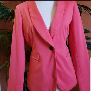 Apt. 9 Coral Fashion Blazer, Single Button